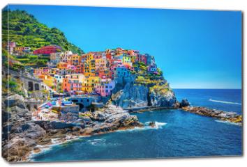 Obraz na płótnie canvas - Beautiful colorful cityscape