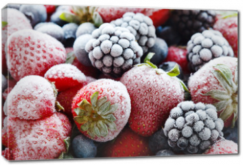 Obraz na płótnie canvas - frozen berries
