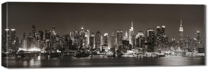 Obraz na płótnie canvas - Midtown Manhattan skyline