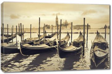 Obraz na płótnie canvas - Gondolas