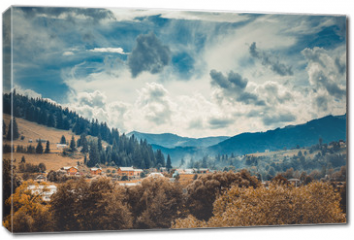 Obraz na płótnie canvas - landscape in mountains Karpaty