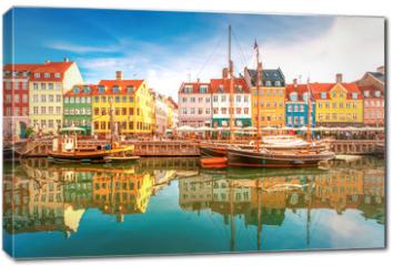 Obraz na płótnie canvas - Nyhavn Kopenhagen