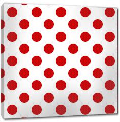 Obraz na płótnie canvas - Seamless polka dot pattern for Your design