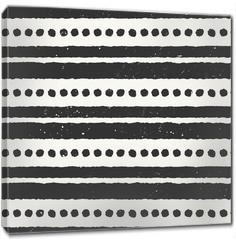 Obraz na płótnie canvas - Hand Drawn Abstract Seamless Pattern