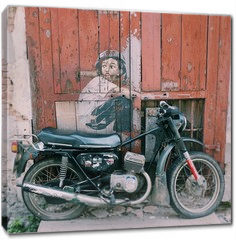 Obraz na płótnie canvas - Street art in Georgetown
