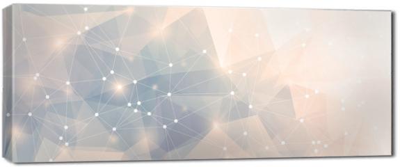 Obraz na płótnie canvas - Polygon Panorama