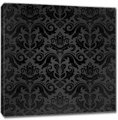 Obraz na płótnie canvas - Damask Seamless Vector Pattern
