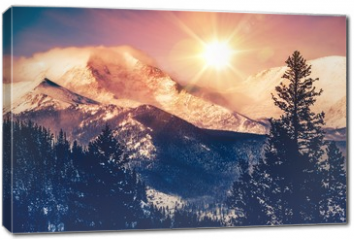 Obraz na płótnie canvas - Colorado Mountains Vista