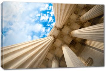 Obraz na płótnie canvas - Columns at the U.S. Supreme Court