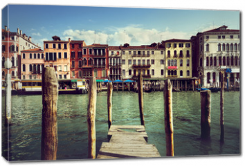 Obraz na płótnie canvas - Grand Canal, Venice, Italy