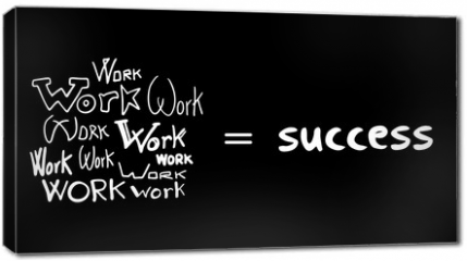 Obraz na płótnie canvas - success secret message
