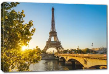 Obraz na płótnie canvas - Paris Eiffelturm Eiffeltower Tour Eiffel
