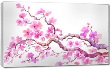 Obraz na płótnie canvas - сакура