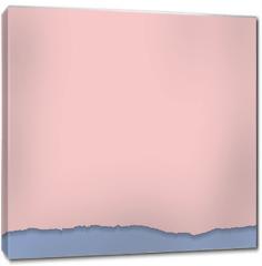 Obraz na płótnie canvas - Rip paper. Rose quarts and serenity colors. Vector illustration.
