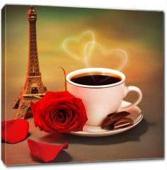Obraz na płótnie canvas - Romantyczna wycieczka do Francji