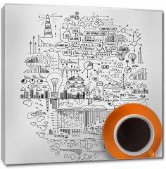 Obraz na płótnie canvas - Czas na kawę