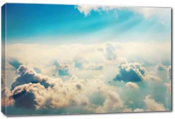 Obraz na płótnie canvas - Chmury i niebo