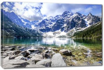 Obraz na płótnie canvas - Morskie Oko Lake