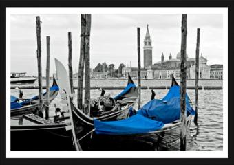 Obraz w ramie - Grand canal, Venice