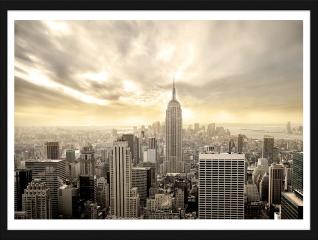 Obraz w ramie - Manhattan