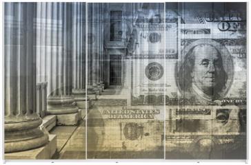 Panel szklany do szafy przesuwnej - Accounting and Finance