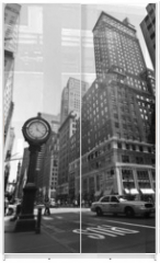 Panel szklany do szafy przesuwnej - New York