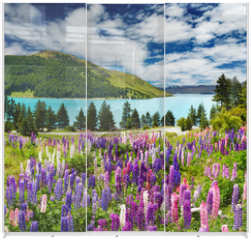 Panel szklany do szafy przesuwnej - Lake Tekapo, New Zealand