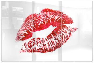 Panel szklany do szafy przesuwnej - Kiss