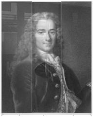 Panel szklany do szafy przesuwnej - Voltaire
