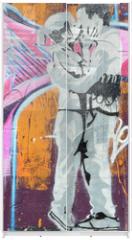 Panel szklany do szafy przesuwnej - amoureux