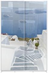 Panel szklany do szafy przesuwnej - Santorini
