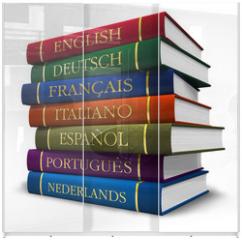 Panel szklany do szafy przesuwnej - Stack of dictionaries