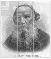 Panel szklany do szafy przesuwnej - Leo Nikolayevich Tolstoy