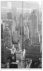 Panel szklany do szafy przesuwnej - Urban architecture