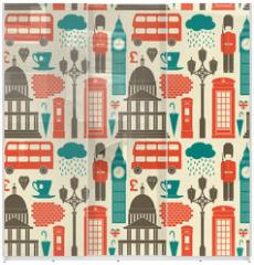 Panel szklany do szafy przesuwnej - London Background