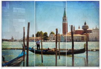 Panel szklany do szafy przesuwnej - Venice, View of San Giorgio maggiore from San Marco