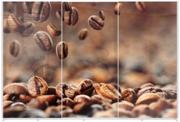 Panel szklany do szafy przesuwnej - Kaffeebohnen 4