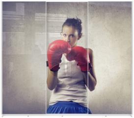 Panel szklany do szafy przesuwnej - boxer