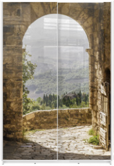 Panel szklany do szafy przesuwnej - Tuscany
