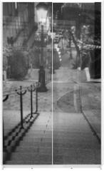 Panel szklany do szafy przesuwnej - Escalier de Montmartre