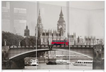 Panel szklany do szafy przesuwnej - London