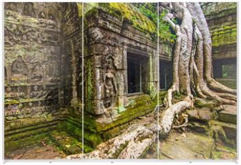 Panel szklany do szafy przesuwnej - Angkor