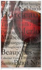 Panel szklany do szafy przesuwnej - Rotwein