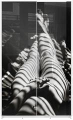 Panel szklany do szafy przesuwnej - rayons de soleil