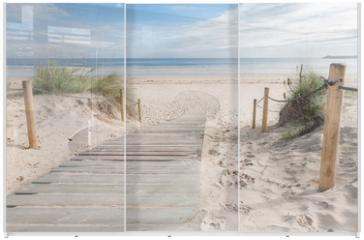Panel szklany do szafy przesuwnej - pasarela 01