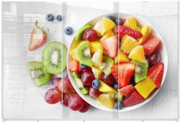 Panel szklany do szafy przesuwnej - Fresh fruit salad