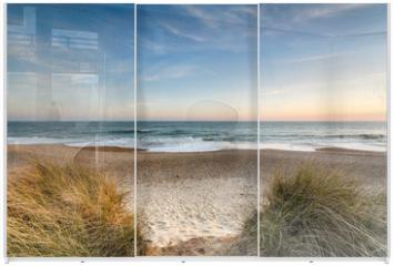 Panel szklany do szafy przesuwnej - Snad dunes at Hengistbury Head