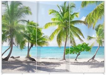 Panel szklany do szafy przesuwnej - Dominikana, Wyspa Catalina