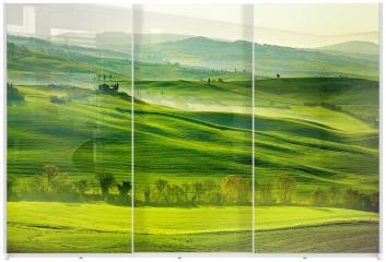 Panel szklany do szafy przesuwnej - San Quirico´Orcia, Toskania, Włochy