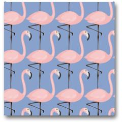 Plakat - tender flamingo pattern